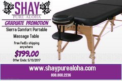 Grad Student Massage Table Discount - FREE FEDEX SHIPPING in Phoenix, Arizona