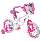 "Girl's Hello Kitty Bike - White/Pink (14"") in Hinesville, Georgia"