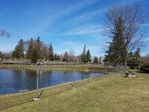 WOODLAWN CEMETERY, 6 lots together, Section 9 across from Swan Lake, forever maint. inc. (815)2... in Lockport, Illinois