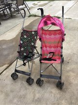 Strollers in Vacaville, California