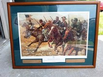 Don Stivers - Redoubtable Sergeant- Signed & Numbered Print with Frame in Hinesville, Georgia
