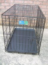 PET PAWS FOLDING DOUBLE DOOR CRATE/CAGE--STILL AVAILABLE in Byron, Georgia