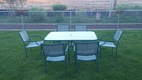 Patio Table & 6 Chairs in Lockport, Illinois