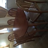 dinning table with 6 chairs in Travis AFB, California