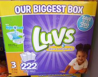 Luvs Size 3 Diapers in Ramstein, Germany
