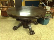 Antique Claw foot table in Bartlett, Illinois