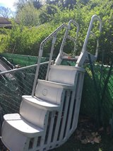 Pool ladder in Glendale Heights, Illinois