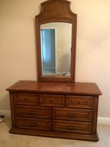 Dresser, mirror and matching nightstand in Byron, Georgia
