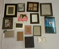 Lot of 12 Picture Frames & 3 Photo Albums in Columbus, Georgia