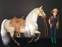 "Disney Store ""Hannah Montana: The Movie"" Horse and Doll Set in Shorewood, Illinois"