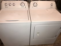Amana Matching Washer and Dryer Set in Fort Campbell, Kentucky