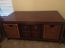 Coffee Table with 3 slide out drawers in Byron, Georgia