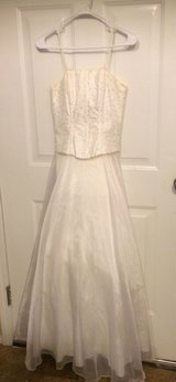 Gorgeous Creme White Formal Dress in Macon, Georgia