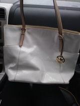 authentic MK white tote in MacDill AFB, FL