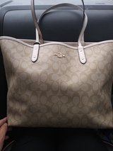 authentic coach reversible tote in Tampa, Florida