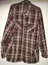 Maurices brown plaid shirt in Pasadena, Texas