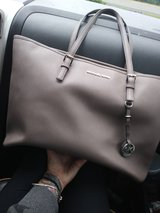 authentic MK grey work tote in Tampa, Florida