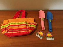 Sunny Patch Kids Gardening Caddy Bag Tools in Bartlett, Illinois