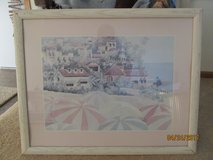 seaside pastel framed picture in Kankakee, Illinois
