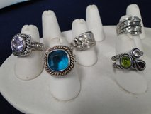 Lot of Five Ladies Fashion Rings in Pasadena, Texas