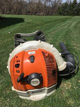 STIHL BR600 gas back pack blower 4 mix model the biggest that stihll makes starts and runs good ... in Naperville, Illinois