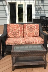Patio love seat in Bartlett, Illinois