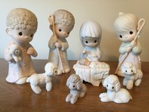 "Precious Moments retired 9"" nativity in Glendale Heights, Illinois"