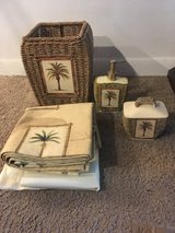 Palm theme bathroom set in Miramar, California