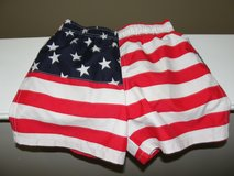 """ADORABLE """"JULY 4TH AMERICAN FLAG"""" BATHING SUIT TRUNKS SIZE 24 MONTHS in Camp Lejeune, North Carolina"""