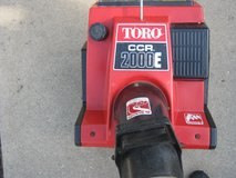 Toro CCR 2000E Snowblower in Algonquin, Illinois