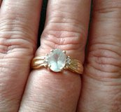 14k March birthstone with real diamond's in Fort Carson, Colorado