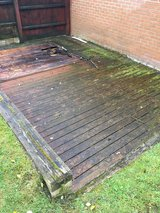 Free decking in Lakenheath, UK