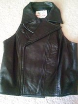 """""""Biker's Choice"""" Leather Vest in Las Cruces, New Mexico"""
