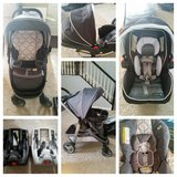 Graco Modes Click Connect Stroller & Infant Car Seat with Additionall Car Seat base and extra co... in Naperville, Illinois