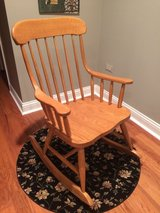 Wooden Rocking Chair (Reduced) in Lockport, Illinois