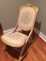 Fold-up Rocking Chair (Priced to sell) in Lockport, Illinois