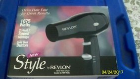 New Revlon  STYLE 1875 Watt hair Dryer in Travis AFB, California