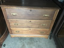 Antique Walnut Cottage Chest in Cherry Point, North Carolina