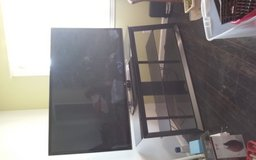 "65"" LG TV & GLASS ENTERTAINMENT CENTER in 29 Palms, California"