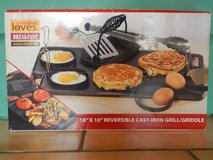 Cast-Iron Grill/Griddle Set in Ramstein, Germany