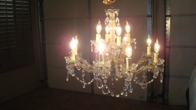 12 Electric cCandle Chandelier( Formal Light fixture) by Daniele in Fort Bliss, Texas
