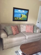 Klausser Brand Couch in Kingwood, Texas