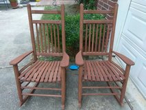 Outdoor Rocking Chair Set in Conroe, Texas