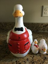 Duck cookie jar and salt & pepper shakers in Clarksville, Tennessee