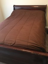 Full size sleigh bed in Fort Campbell, Kentucky