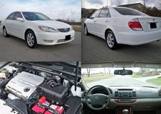FWD 2006 Toyota Camry White ext. leather int. in Warner Robins, Georgia
