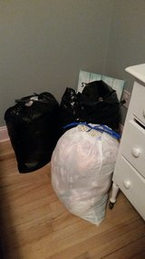 3 bags of Baby girl clothes and baby gear (bottle warmer,etc) in Camp Lejeune, North Carolina