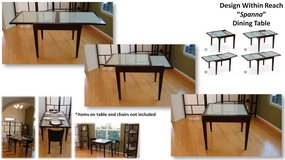 Extendable dining table in San Diego, California