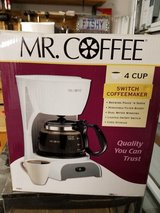 Mr. Coffee 4-cup coffee maker in Camp Lejeune, North Carolina