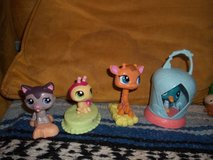 Toy Figurines- Alvin and Chipmunks, Littlest Pet Shop in Alamogordo, New Mexico